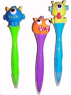 Inkology Bug 眼笔,6 支笔,各种怪物设计 (195-9)
