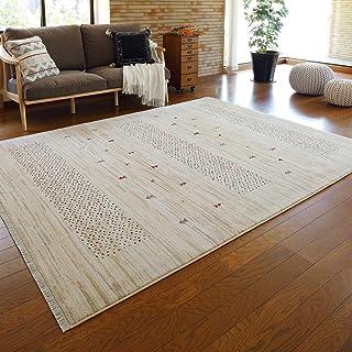 """萩原 威尔顿编织毯 约200×250厘米 """"RAKKAS 提拉丹"""" 田园花纹 民族图案 电热毯/地暖适用"""