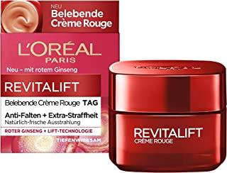 L'Oréal Paris 巴黎欧莱雅 Revitalift Crème Rouge 复颜抗皱紧致滋润日霜,含红参成分,50ml