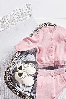 Jollein 裤子,尺码 50/56,腮红粉色,漂亮针织