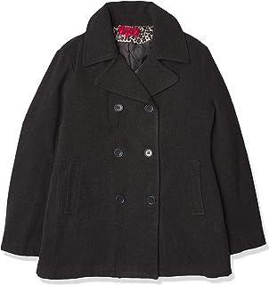 Excelled Leather 女式经典粗呢大衣