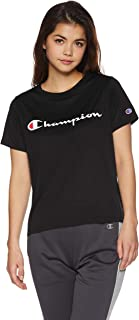 Champion 女士 T恤 运动速干 抗菌・防臭 抗UV 防出汗着凉 反光印花 CW-PS303