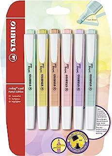 记号笔 – STABILO 思笔乐 swing cool 6er Blister Pastell / 6 Farben