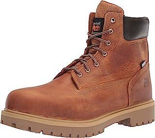 Timberland PRO 男士 Direct Attach 6 英寸(约 15.2 厘米)软鞋头保暖防水工装靴