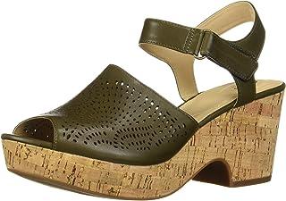 Clarks 女士 Maritsa Nila 坡跟凉鞋