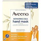 Aveeno Cica 修复手膜,含益生元燕麦和乳木果,6件