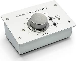 DYNASTY PROAUDIO PMC-1 高级被动立体声监视器音量控制器带大音量旋钮,可实现极精确的水平调节
