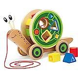 Hape 蜗牛拖拉车玩具