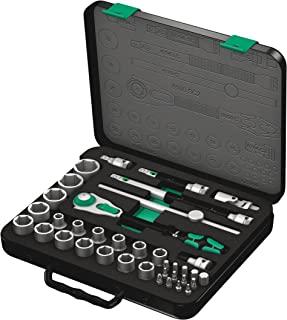 """Wera 维拉Zyklop Speed 棘轮扳手组套 8100 SC 2,1/2""""驱动,公制,37件,05003645001"""