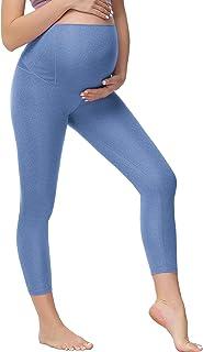 孕妇七分裤瑜伽裤,健身运动裤,孕妇女性