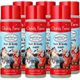 Childs Farm 洗发身体沐浴露,甜橙味,250毫升,8.4盎司(约238.14克),6瓶