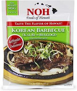 NOH 韩国烧烤(Kal Bi),1.5 盎司(约 42.5 克)袋(12 件装)