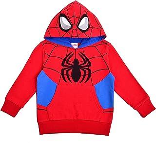Marvel 蜘蛛侠男孩连帽衫,*英雄套头连帽运动衫