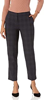 Kasper 女式格子弹性长裤