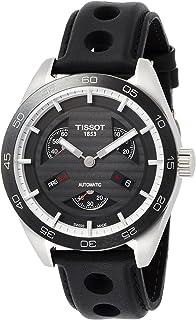 天梭 T100.428.16.051.00 男士运动PRS516系列黑色表盘黑色表带计时自动腕表