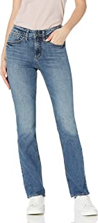 Silver Jeans Co. 女式 Avery 曲线修身高腰修身微喇牛仔裤
