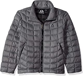 Reebok 男童运动夹克,带冰川护盾