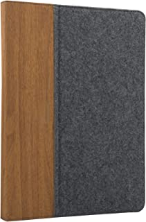 Speedlink 通用平板电脑包 - SENTEA 通用保护套(实用支架功能,舒适工作 - 橡胶带,便于抓握,表面)适用于13.5 x 19.2厘米至14.5 x 20.3厘米灰色-棕色