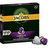 Jacobs 咖啡胶囊 浓烈稀饮意式特浓(Lungo Intenso),浓度8/12,200粒兼容Nespresso,1…
