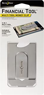 Nite Ize MCT-11-R7 金融多功能工具钱夹 - 不锈钢,银色