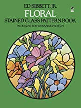 Floral Stained Glass Pattern Book (Dover Stained Glass Instruction) (English Edition)