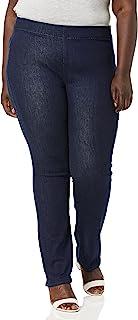 NYDJ 女士加大码直筒牛仔裤
