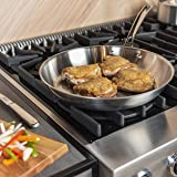 Viking Professional 5-Ply Stainless Steel Fry Pan, 12 Inch