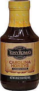 Tony Roma's Carolina蜂蜜烧烤酱,20盎司,(567g),蜂蜜烧烤,6瓶装