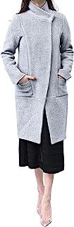 Nother 女式时尚羊毛外套过膝长款加厚外套