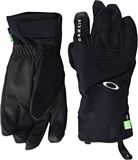Oakley Roundhouse 2.5 男士滑板滑雪短手套 2X-Large 黑色 94322-02E-XXL