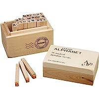 丸和贸易 木盒印章 字母表 S