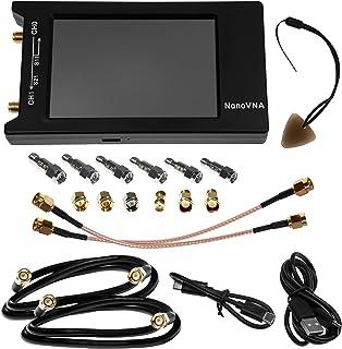 "Nooelec NanoVNA-H 4 高级套装 - 矢量网络分析仪套装,*经销商提供 50kHz-1.5GHz+ 便携式 VNA (4"" LCD),电磁干扰屏蔽,校准套件,6件减震器套件等等!"