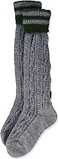 lusana 男孩款 kinder-kniestrumpf MIT zopfmuster UND bestickter ranke knee-high 短袜