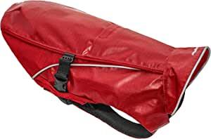 Kurgo 狗狗重型雨衣 | 防水狗狗雨衣 | 宠物耐用户外装备 | 可调节侧夹 | 皮带附件开口 | 朴茨茅斯臭味天气夹克 | 5 种尺寸(XS)