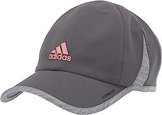 adidas 女式 Superlite 休闲帽,白色/浅麻灰,均码