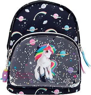 Depesche 11169 小背包,Ylvi & The Minimoomis-Space,大约27 x 21 x 3 厘米,大号,可调节肩带,背部带衬垫,宽敞的主隔层,非常适合幼儿园