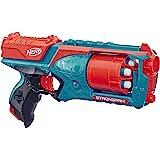 Hasbro 孩之宝 Strongarm Nerf N-Strike 热火 精英玩具冲击波,带有旋转枪管,大满贯火力,以…