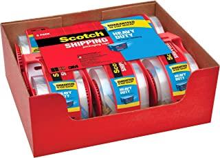 Scotch 重型运输包装胶带,21.59X 27.94cm ,6卷带切割器 ( 142–6)