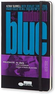 Moleskine Blue Note 大号纯白笔记本(黑色硬面)