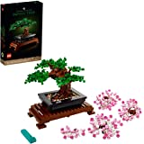 LEGO 盆景树 10281 建筑套件,一个建筑项目,用美丽的展示件来关注心灵,2021 年新款(878 件)