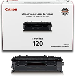 Canon Original 120 碳粉盒 - 黑色 1 包 1 黑色