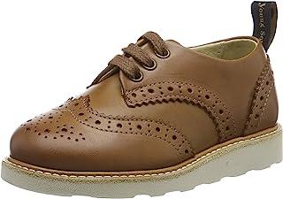 Young Soles 中性款儿童 Brando 粗革皮鞋
