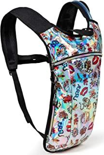 补水背包 - 轻水包 - 2 公升水袋适用于跑步、远足、骑自行车、节日、旅行