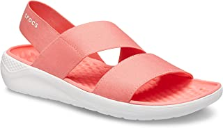 Crocs 卡骆驰 女士Literide Stretch露趾凉鞋
