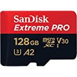 SanDisk Extreme 128 GB 微型 SDXC 存储卡 + SD 适配器
