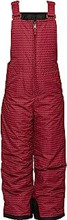 Arctix 婴幼儿胸部高雪围兜背带裤,箭头复古红色/黑色,3T