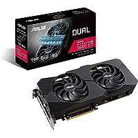 ASUS 华硕 Dual AMD Radeon RX 5600 XT EVO 高级游戏显卡(PCIe 4.0、6GB G…