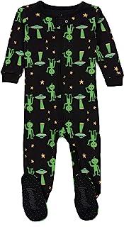 leveret 婴儿男孩连脚睡衣睡衣100% 棉质尺码6months-5幼儿