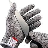 NoCry 防切手套-高性能,5级防护,食品级,体积小,包括免费电子书