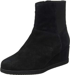 Geox 女士 D Anylla 坡跟 H 及踝靴